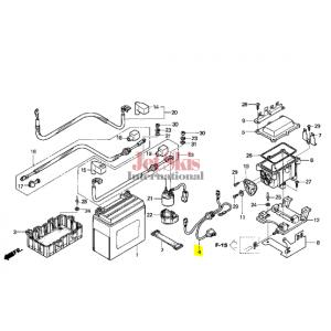 HONDA 32102-HW1-670 SUB-HARNESS