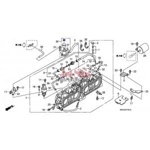 Honda 36138-PR7-A01 Solenoid Valve Filter Assembly