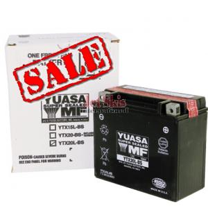 Yuasa Battery YUAM320BS / YTX20L-BS