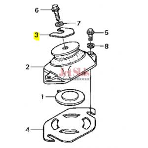 HONDA 50203-HW1-680 ENGINE SHIM (0.5MM)