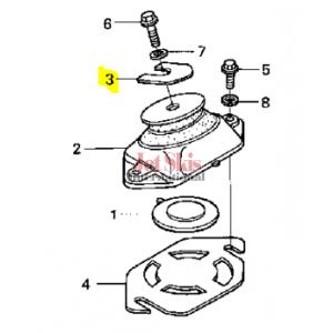HONDA 50205-HW1-680 ENGINE SHIM (1.5MM)