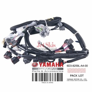 YAMAHA 6D3-8259L-A4-00 WIRE HARNESS ASSEMBLY