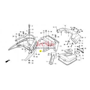 HONDA 77352-HW3-670 STUD RR, GRIP