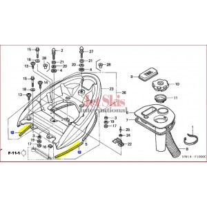 Rear Grip Seal 83709-HW1-670