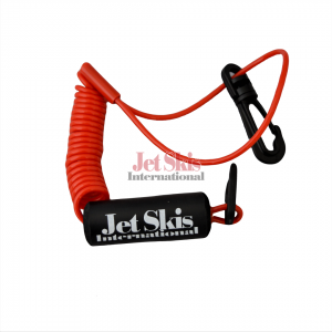 RED KAWASAKI FLOATING LANYARD