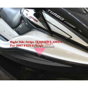 Honda Aquatrax Parts 2007 ARX1200T3D A MARK + STRIPE Diagram