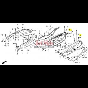 HONDA AQUATRAX PART# 83707-HW3-670 SEAL A, SIDE PANEL