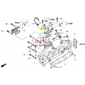 HONDA AQUATRAX PART # 32123-HW4-680 HOLDER, HARNESS