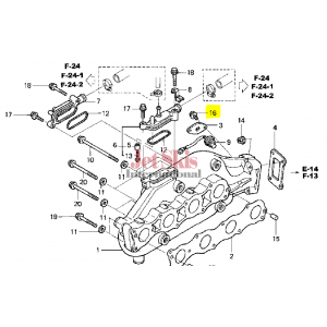 HONDA AQUATRAX PART # 95701-06012-02 BOLT, FLANGE (6X12)