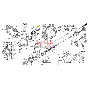 HONDA AQUATRAX PART# 91252-HW1-671 SEAL B