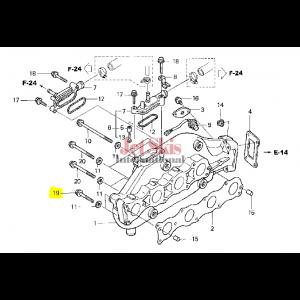HONDA AQUATRAX 95701-08055-02 BOLT, FLANGE (8X55)