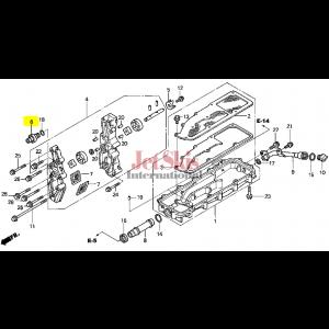 HONDA AQUATRAX 15220-HW1-670 VALVE ASSY., RELIEF