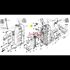 HONDA AQUATRAX 95701-06016-02 BOLT, FLANGE (6X16)