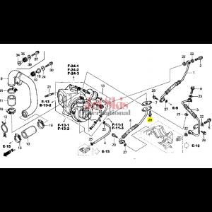 HONDA AQUATRAX BOLT, FLANGE (6X14) 95701-06014-02