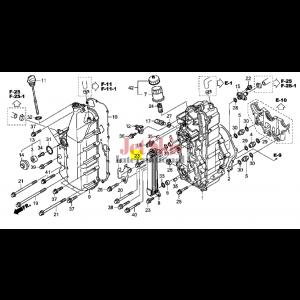 HONDA AQUATRAX BOLT, FLANGE (6X20) 90009-HW1-671