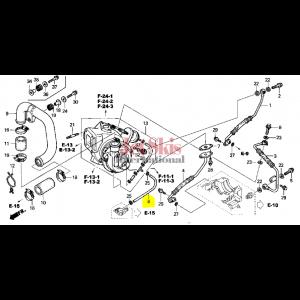 HONDA AQUATRAX TUBE B (3.0X280) 16577-HW1-671