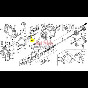 HONDA AQUATRAX 91325-HW1-671 O-RING (57.4X3.1)