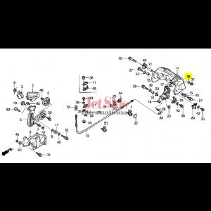 HONDA AQUATRAX WASHER, PLAIN (6MM) 90504-921-010