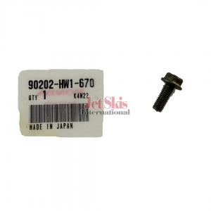 HONDA AQUATRAX 90202-HW1-670 BOLT, FLANGE (6X16)
