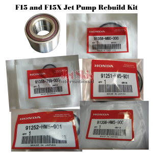 Water Stator ? Jet Pump Rebuild Kit for  F15,F15X 2008,2009