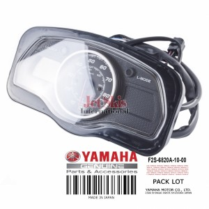 YAMAHA F2S-6820A-10-00 METER ASSEMBLY