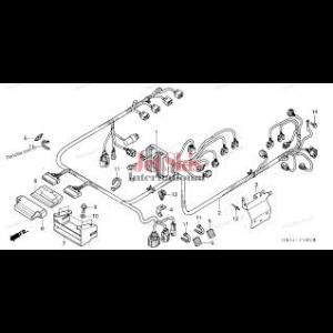 Honda Aquatrax Part# 32101-HW3-670 Engine Harness Diagram