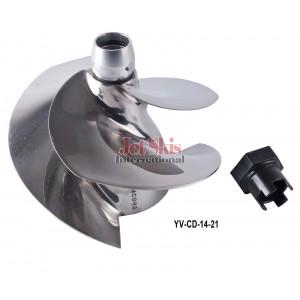 Solas Concord Impeller YV-CD 14/21 160mm Yamaha FZR, FZS, FX SVHO, FX Cruiser SVHO