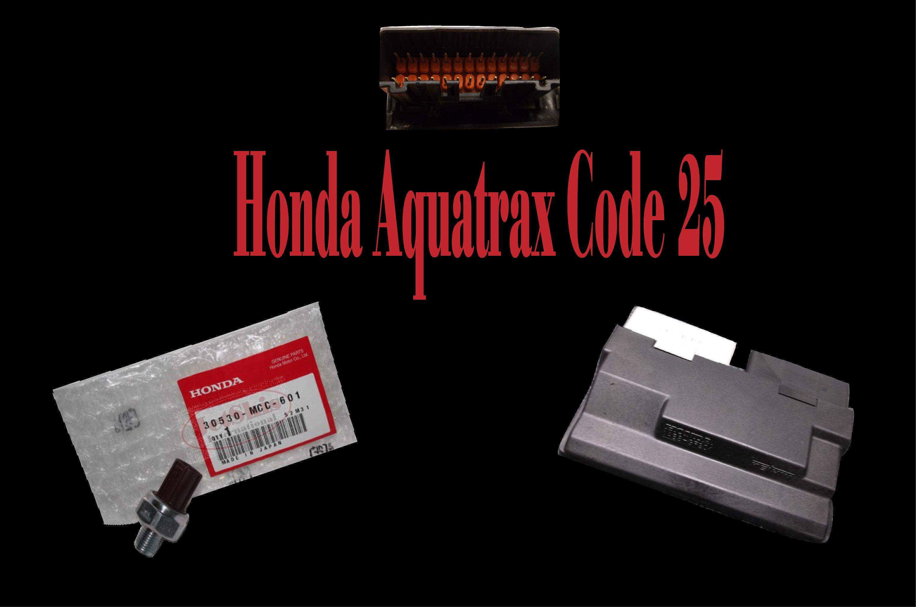 Tech articles honda aquatrax code 25 jet skis international honda aquatrax code 25 fandeluxe Choice Image