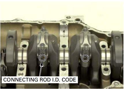 Aquatrax connecting rod bearing color code location